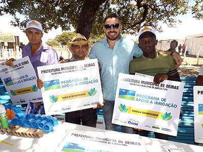 Kits de Irrigação mudam realidade de famílias produtoras