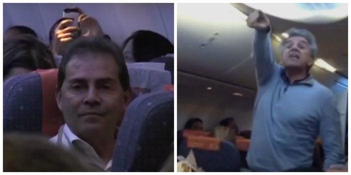 Deputados foram hostilizados por passageiros