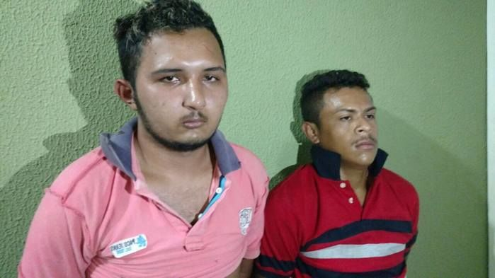 Por volta de 21h a Polícia Militar conseguiu localizar os suspeitos (Crédito: Reprodução)