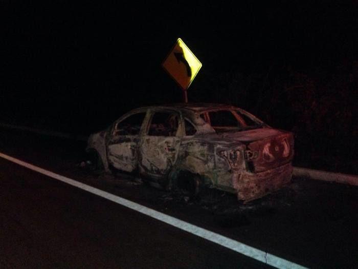Taxista é sequestrado, foge e escapa de ser queimado vivo (Crédito: Reprodução)