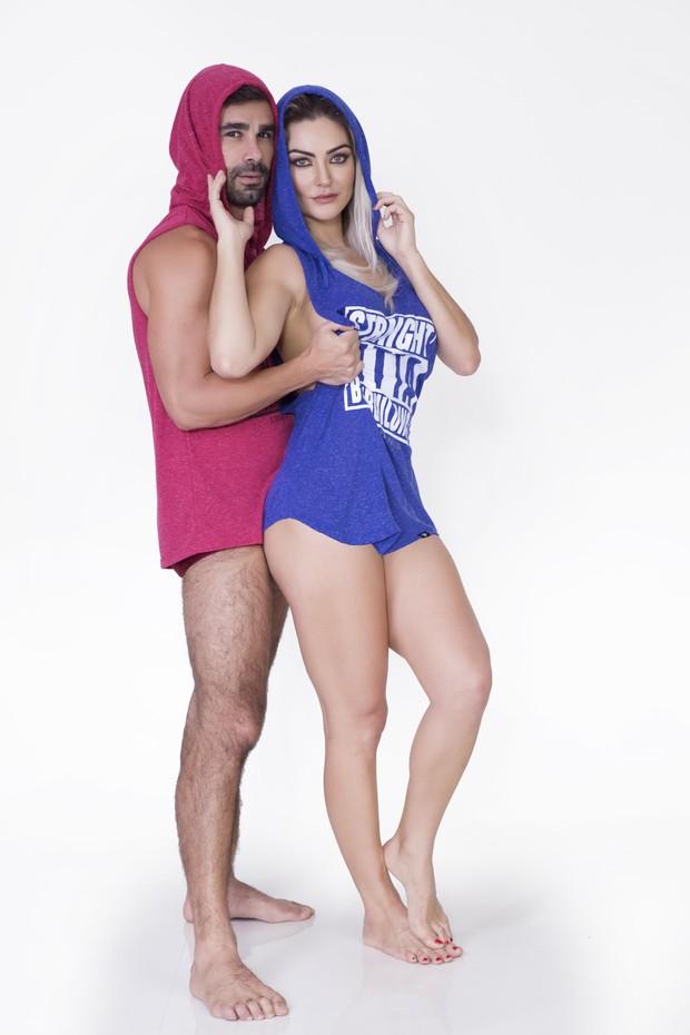 Laura Keller e o marido, Jorge Souza (Crédito: Divulgação)