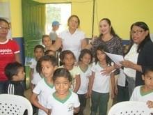 Campanha do Tracoma é Realizada nas Escolas em Agricolândia