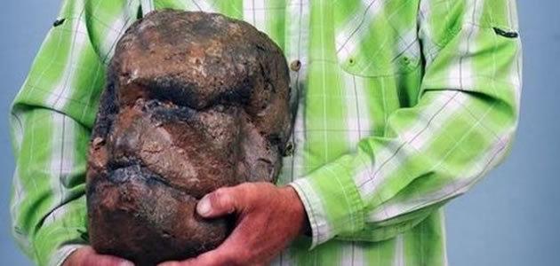 Homem diz ter encontrado cabeça fossilizada do Pé Grande