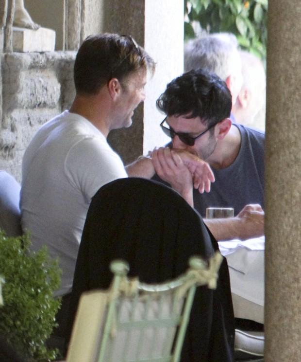 Ricky Martin  e o namorado Jwan Yosef