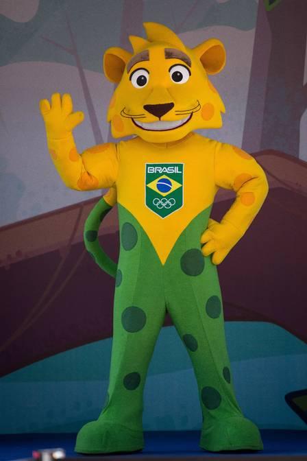 Onça-pintada é o símbolo do Time Brasil nas Olimpíadas (Crédito: Reprodução)
