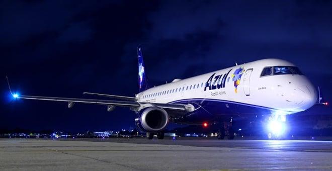 A aeronave que fará o trajeto é o jato Embraer 195