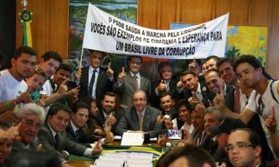 Movimento Brasil Livre (Crédito: Reprodução)