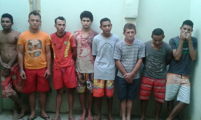 Presos em Oeiras (Crédito: Polícia Civil)