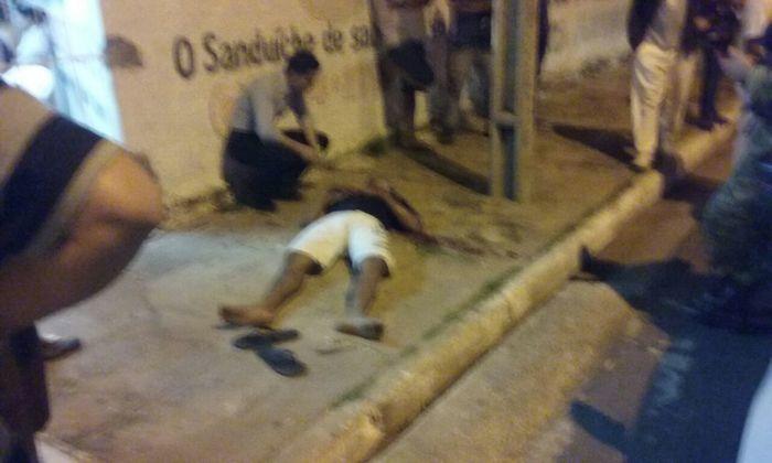 Bandido fica ferido após tentar assaltar loja na z.Leste de THE  (Crédito: Reprodução)