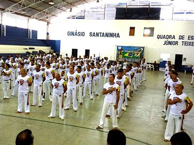 Eventos de capoeira acontecem em Oeiras