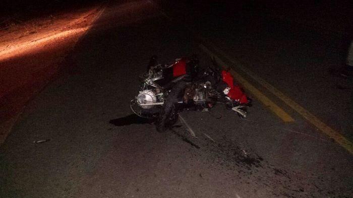 Acidente deixa motociclista morto (Crédito: Reprodução)