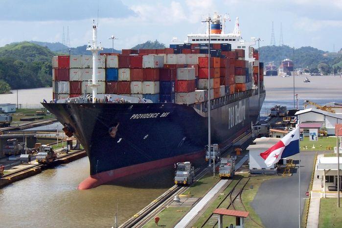 Canal do Panamá (Crédito: Reprodução)