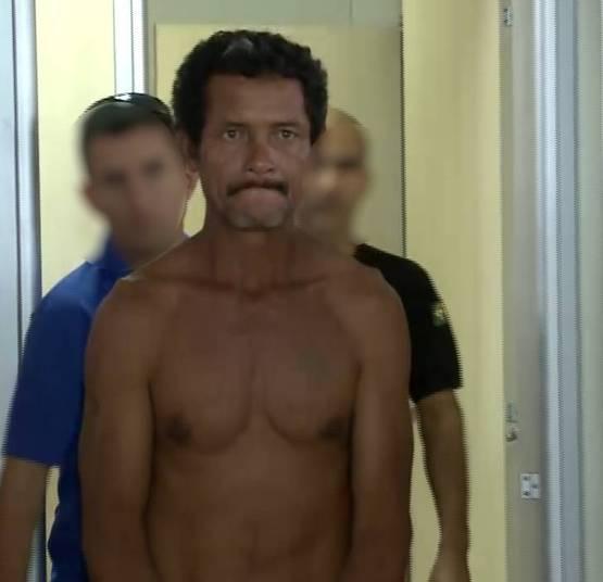 Homem preso suspeito de estupro (Crédito: Reprodução)