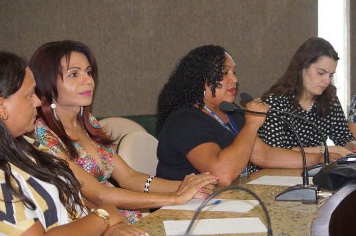 Maria Laura dos Reis coordenadora do Grupo Piauiense de Transexuais e Travestis