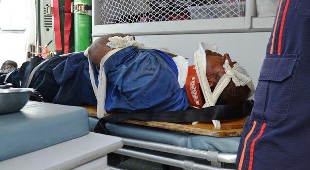 Uma das vítimas do acidente na BR-343 (Crédito: Blog do Pessoa)