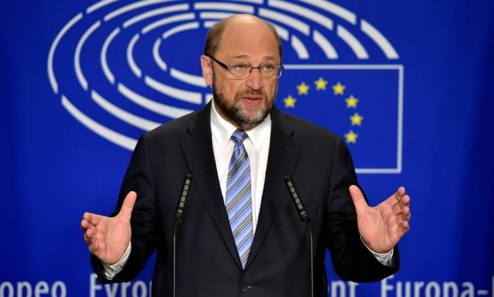 Presidente do Parlamento europeu, Martin Schulz (Crédito: Reprodução)