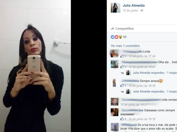Travesti foi assassinada (Crédito: \Divulgação)