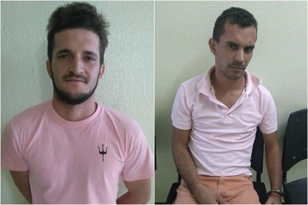 Sávio Risonan Ramos Oliveira e Charles Vieira Ramo