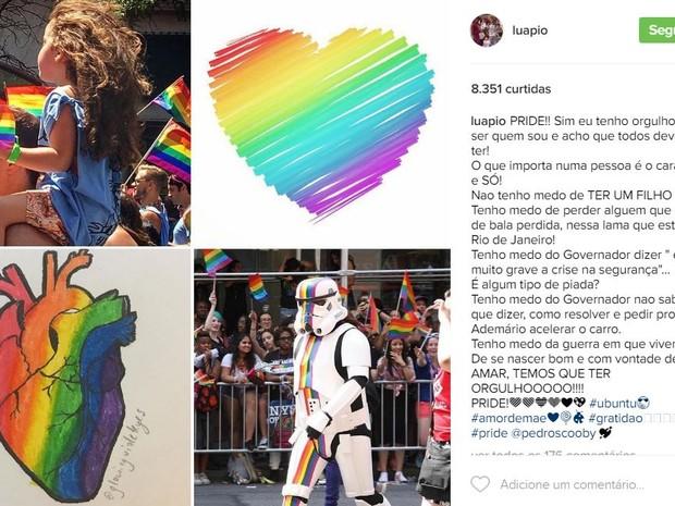 Luana Piovani  (Crédito: Reprodução/ Instagram)