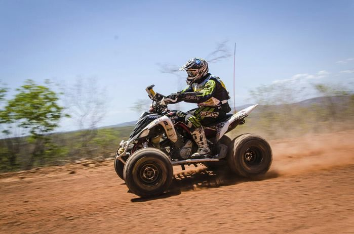 Piloto do Quadri Clube Teresina