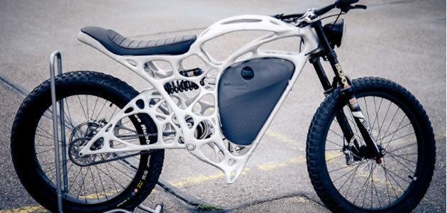 Empresa fabrica primeira moto elétrica em impressora 3D