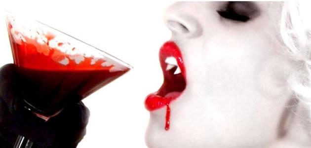 Beber sangue faz bem à saúde?