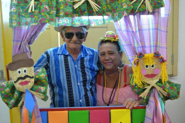 CRAS realiza festa junina para idosos do grupo Viva Idade - Imagem 8