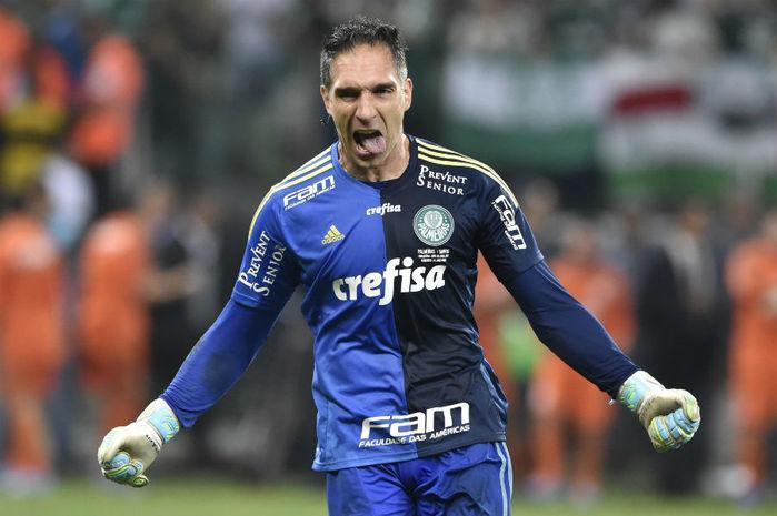 Goleiro do Palmeiras, Fernando Prass (Crédito: Reprodução)