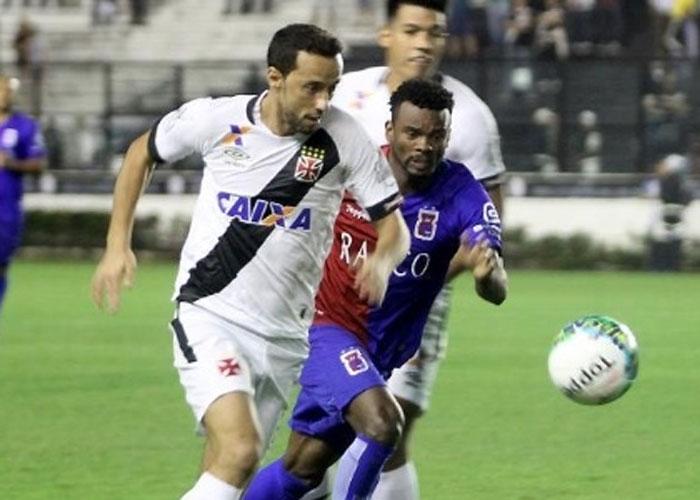 Vasco volta a tropeçar em casa (Crédito: Site Vasco)