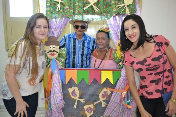 CRAS realiza festa junina para idosos do grupo Viva Idade - Imagem 66