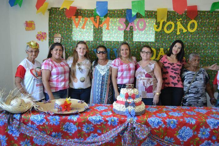 CRAS realiza festa junina para idosos do grupo Viva Idade - Imagem 7