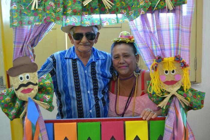 CRAS realiza festa junina para idosos do grupo Viva Idade - Imagem 3