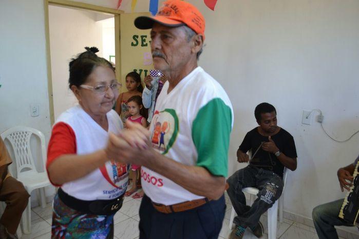 CRAS realiza festa junina para idosos do grupo Viva Idade - Imagem 65