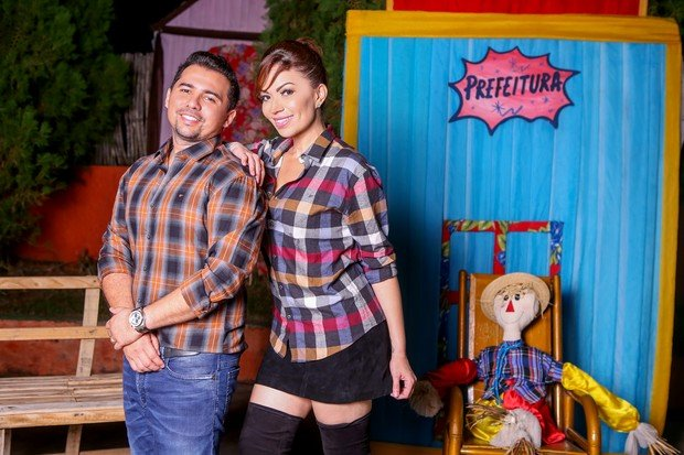 Xand e Solange Almeida, vocalistas do Aviões do Forró (Crédito: Reprodução)
