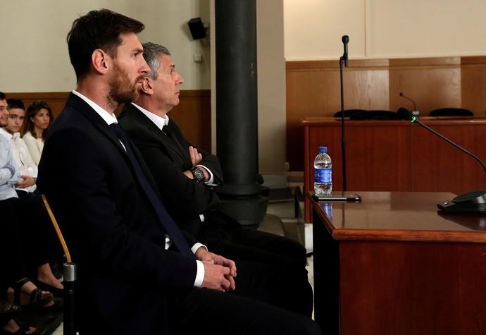 Lionel Messi em julgamento (Crédito: Reprodução)