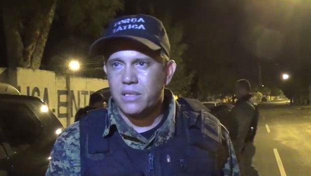 Capitão Oziel do 9º Batalhão da Polícia Militar (BPM)