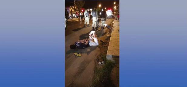 Assaltante baleado durante troca de tiros com a polícia na zona Norte