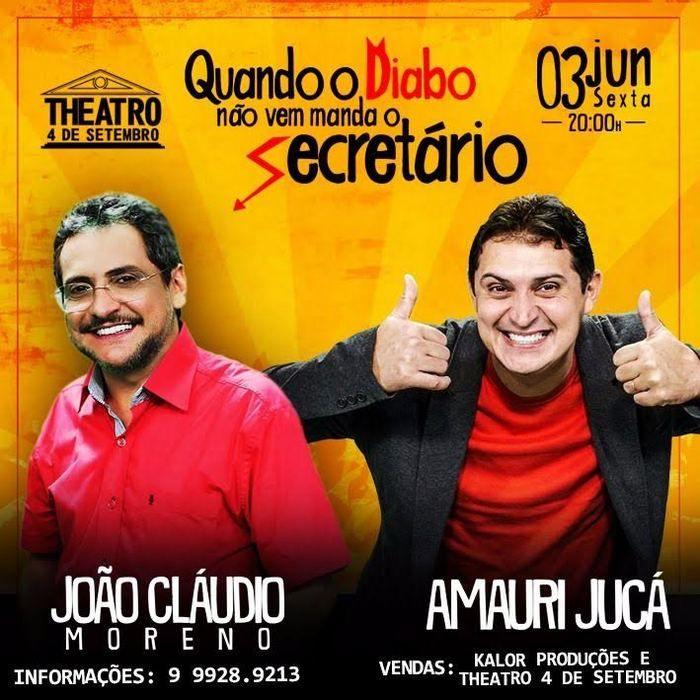 João Cláudio e Amauri Jucá