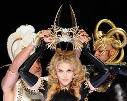 Madonna é a artista mais rica, com fortuna de US$ 550 milhões