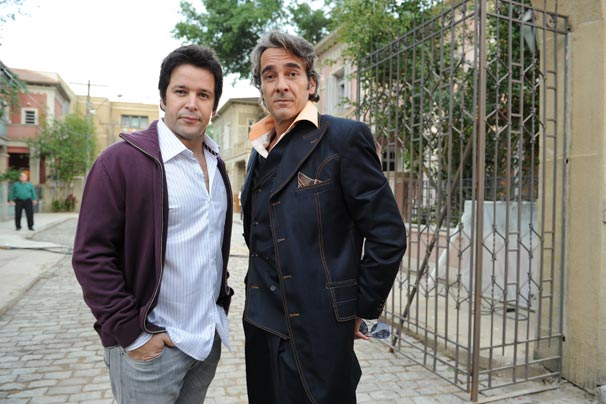 Murilo Benício e Alexandre Borges