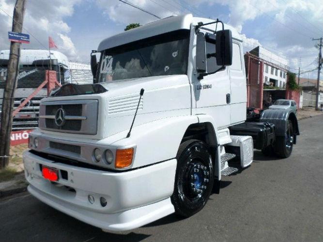 Caminhão semelhante ao que foi roubado (Crédito: Reprodução)