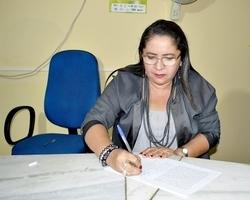 Ignez Silva é empossada vereadora pelo Partido Verde em Vila Nova