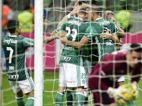 Palmeiras vence Figueirense por 4 a 0 e abre 3 pontos de vantagem