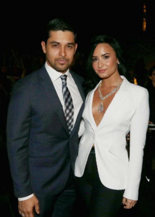 O ator Wilmer Valderrama e a cantora Demi Lovato namoraram por seis anos (Crédito: Reprodução)