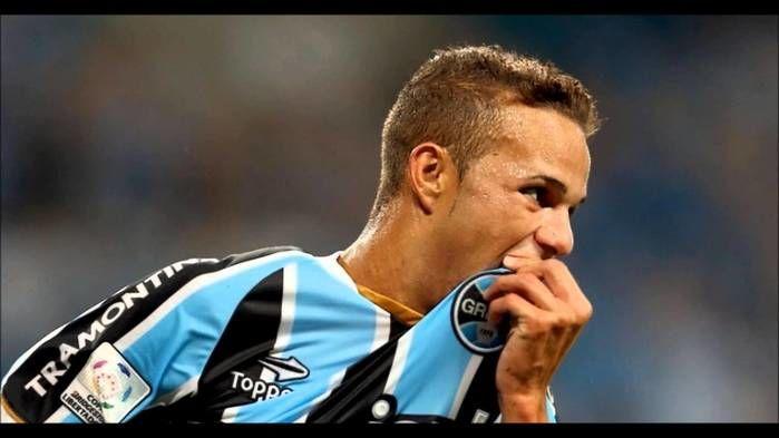 Luan fez o gol da vitória do Grêmio