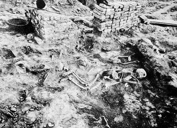 Restos radioativos encontrados em cidades antigas (Crédito: Reprodução)