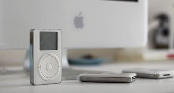 iPod de Primeira Geração (Crédito: Reprodução)