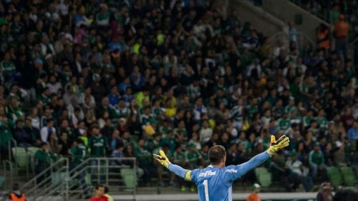 O Palmeiras voltará a ficar sem o Allianz neste Brasileiro (Crédito: Gazeta Press)