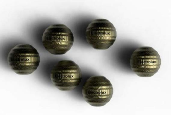 Esferas que aquecem alimentos (Crédito: Reprodução)