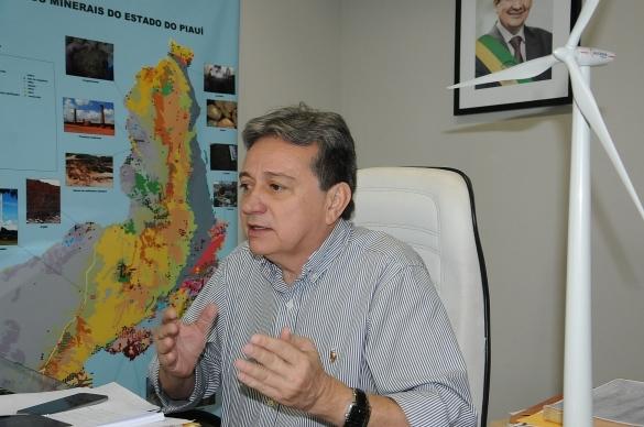 Secretário da Mineração, Luiz Coelho